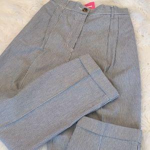 Vintage harve benard High Waist Paper Bag Trouser